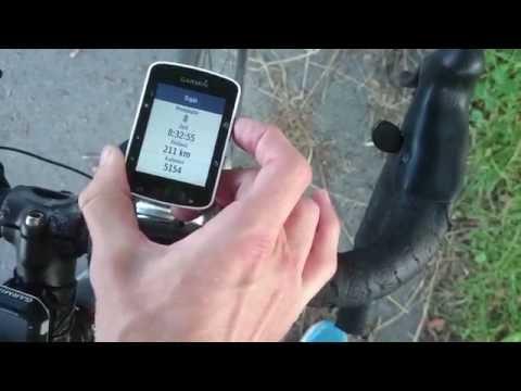 Garmin Edge 520 Test Deutsch Bedienung, Strava und Navigation