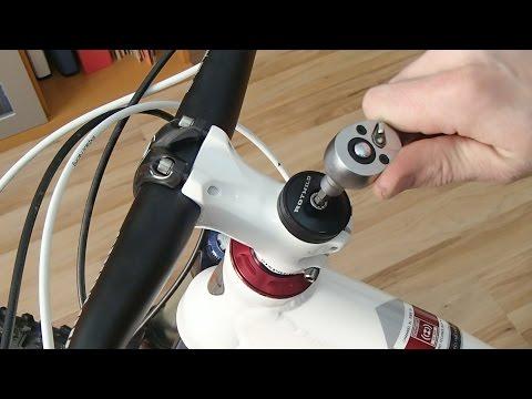 Steuersatz am Fahrrad einstellen - ausführlicher Workshop