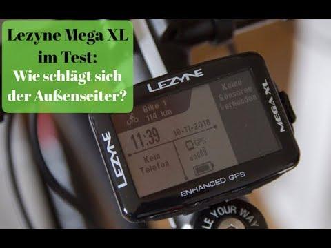 Lezyne Mega XL GPS test