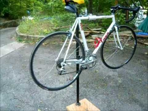 How To Make A Bike Repair Stand DIY
