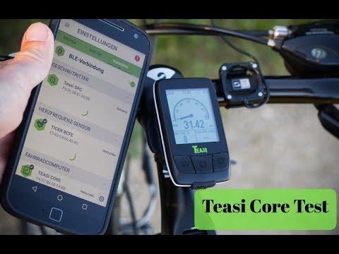 Teasi Core Test - Praxisvideo vom Bike Computer (Deutsch)
