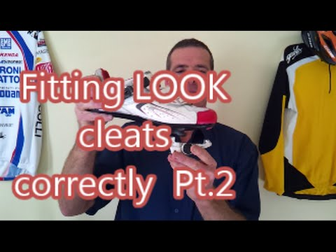 Fitting Look cleats correctly Pt.2