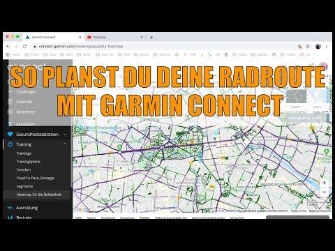 Garmin Connect: Routenplanung und weitere Funktionen