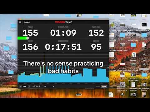 Die Trainerroad App in der Praxis