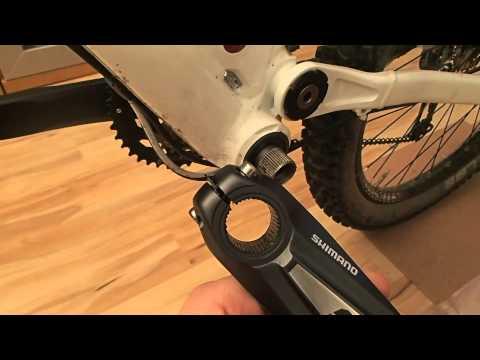 Kurbel wechseln/montieren Shimano (Ein- und Ausbau) ** Workshop Teil 2