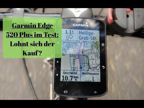 Garmin Edge 520 Plus: Das ist anders als beim älteren 520 Modell.