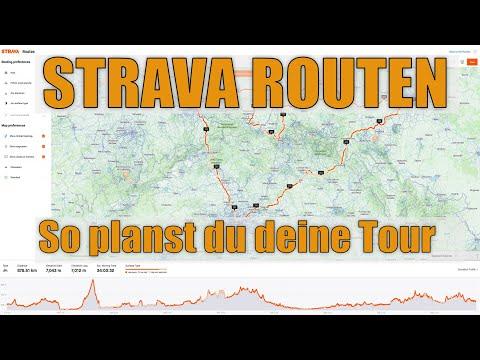 Strava Routen: So planst du deine nächste Radtour.